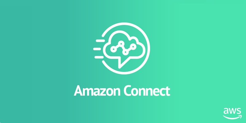 Amazon Connect logo with the green background