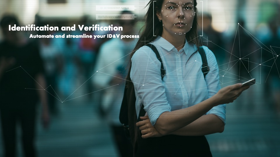 Lady Being Identified And Verified Or ID&V Using Amazon Connect