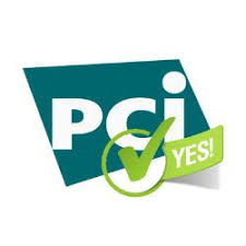 pci dss logo with a tick